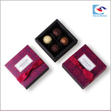 Hot vente personnalisé fait à la main tiroir coulissant chocolat boîtes en papier