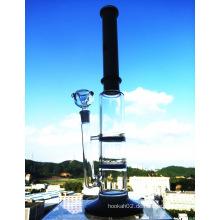 Top Selling High Quality Drei Ebenen Honeycomb Percolator Rauchen Glas Wasser Rohr mit Fabrik Preis