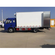 DFAC Loading Reefer Frozen Box Lorry