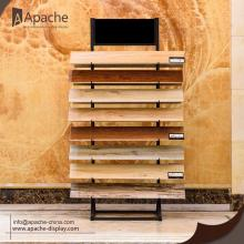 Goods high definition for Metal Display Stand Metal Ceramic Tile Display Shelf for Superstore export to Congo Exporter