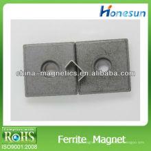 Aimants permanents ferrite rectangulaire Y35