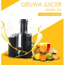 75mm Öffnungsrutsche 450W Küche Elektrische Fruchtsaftpresse (J27)