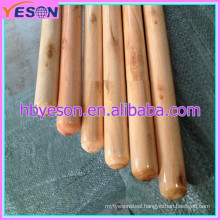 Varnished wooden broom stick with COMPETITIVE PRIC