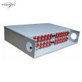 PG-ODF2026 19inch a fixé le cadre de distribution optique de fibre de bâti de support, capacité de 12-96 noyaux, adapteur de FC / SCLC / ST disponible