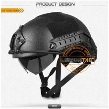 Capacete capacete Mich com NIJ IIIA.44 com ISO e normas militares à prova de balas