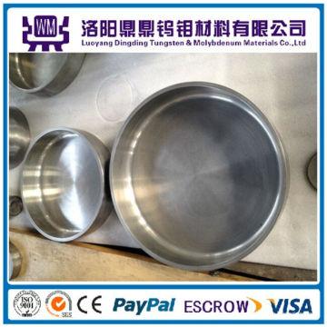 Crisol de tungsteno de alta pureza de la venta caliente para el horno growthing cristalino de zafiro