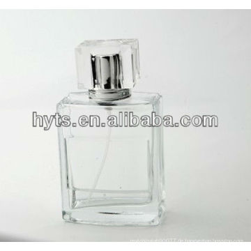 leere 100ml Klarglasflasche für Parfüm