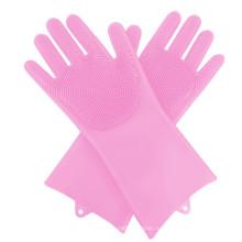 Бытовые перчатки для мытья посуды Силиконовые перчатки для чистки посуды