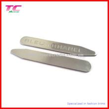 Clássico personalizado logotipo Metal Collar Stay para High-End Brand Shirts (TC-OT1001)
