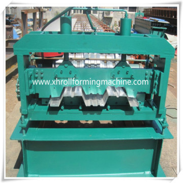 Garage Metal Floor Decking Roll Forming Machine