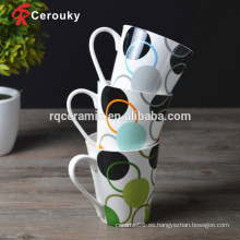 FDA LFGB BSCI SEDEX aprobado tazas de porcelana fina