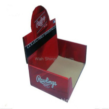 Newest customized product display packaging carton box
