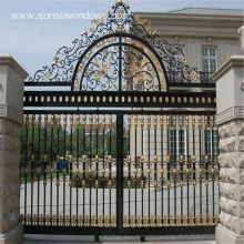 Aluminum Lockable Secure Garden Gates