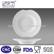 High grade super white chinese ceramic soup bowls wholesale