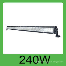 Hot sale 240W IP68 DC10v-30V car offroad SMD led light bar