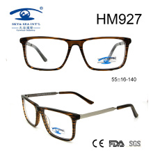 Rectangle Shape High Quality Acetate Optical Eyewear Eyeglasses (HM927)
