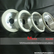 6A2 Vitrified bond diamond abrasive grinding wheel for pcd tools
