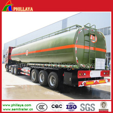 3 Achsen Deutscher Suspension Asphalt Trailer Tanker