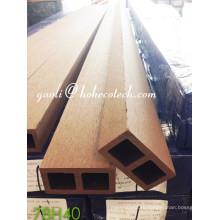 Ультра-стойкий деревянный настил Sythenic влагозащищенные колонки WPC деревянное зерно