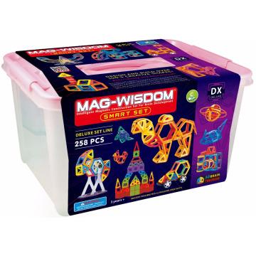 258 pcs Magical Construction Tiles Toys