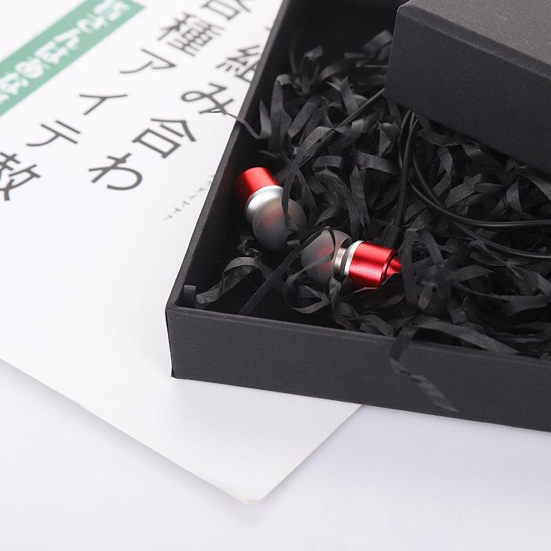 Black Earphone Box 4