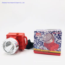 Hel-1107 Cheap Price ABS PP Plastic LED Headlamp Head Flashlight