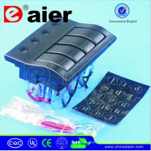 Panneau imperméable de LED 12V / 24V, commutateur de panneau /