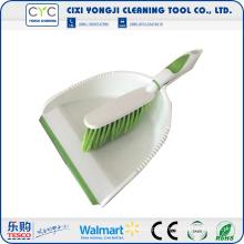 Mini Pá de Plástico e Escova Para Limpeza Doméstica