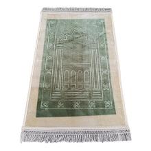 Raschel Super Soft Portable Printed Carpet Cheap Muslim Prayer Thick Rug Durable Mat