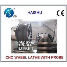 Wheel Rim Surface Polishing Machine Tool, Ck6166A