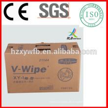 Spunlace-Vlies-fusselfreie industrielle Abwischen-Rolle industrielle Werkstatt-Lumpen