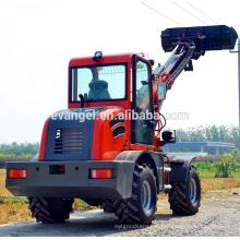 Mini chargeur télescopique de chargeur de chariot élévateur de chargeur de boom 1.5 tonnes