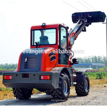 mini telescopic boom handler forklift wheel loader 1.5 tons