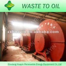 Preço competitivo máquina de refino de óleo de pirólise com CE e ISO