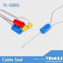 Контейнер уплотнение кабеля с номером и логотипом (ил-G002)
