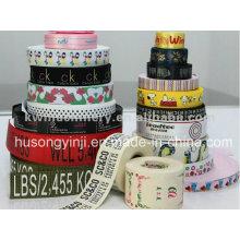 Hochtemperatur-Tinten Ribbon-Label-Druckmaschine