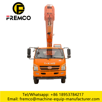 T-King 12 Ton Boom Crane Truck For Sale
