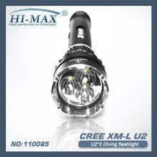 X-Beam CREE U2X3 LED de buceo linterna