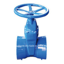 BS Ductile Iron Socket End Resilient Seat Gate Valve with Epoxy Coating