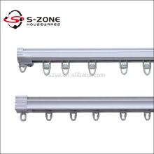White sliding silent flexible PVC Germany curtain industrial rails tracks for sale