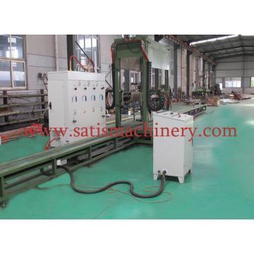 Máquina de soldadura de la bobina de la aleta de automática de tubería de cobre