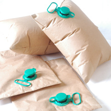high strength recyclable brown inflatable kraft paper dunnage air bag