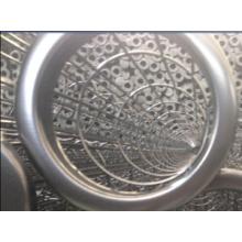 Edelstahl-Filterbeutel-Käfig stimmen Filter-Beutel für Zementindustrie überein