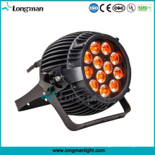 Outdoor DMX 12PCS 14W Waterproof LED Lights Rgbawv 6-in-1 LED PAR Light