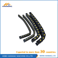 Zwarte Nylon Drag Chain Wire Carrier CNC Machine