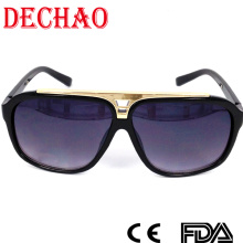 2015 updated designer women sunglasses with metal accessory superior quality