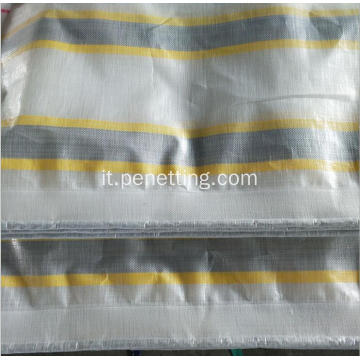 Targhetta Poly Stripe Color PE Tarpaulin Poly