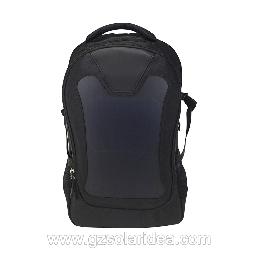 high solar panel backpack