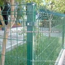 Alta qualidade metal jardim cerca posto