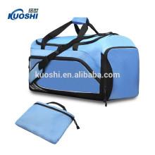 sac de sport pliable de vente chaude pour ensemble de voyage